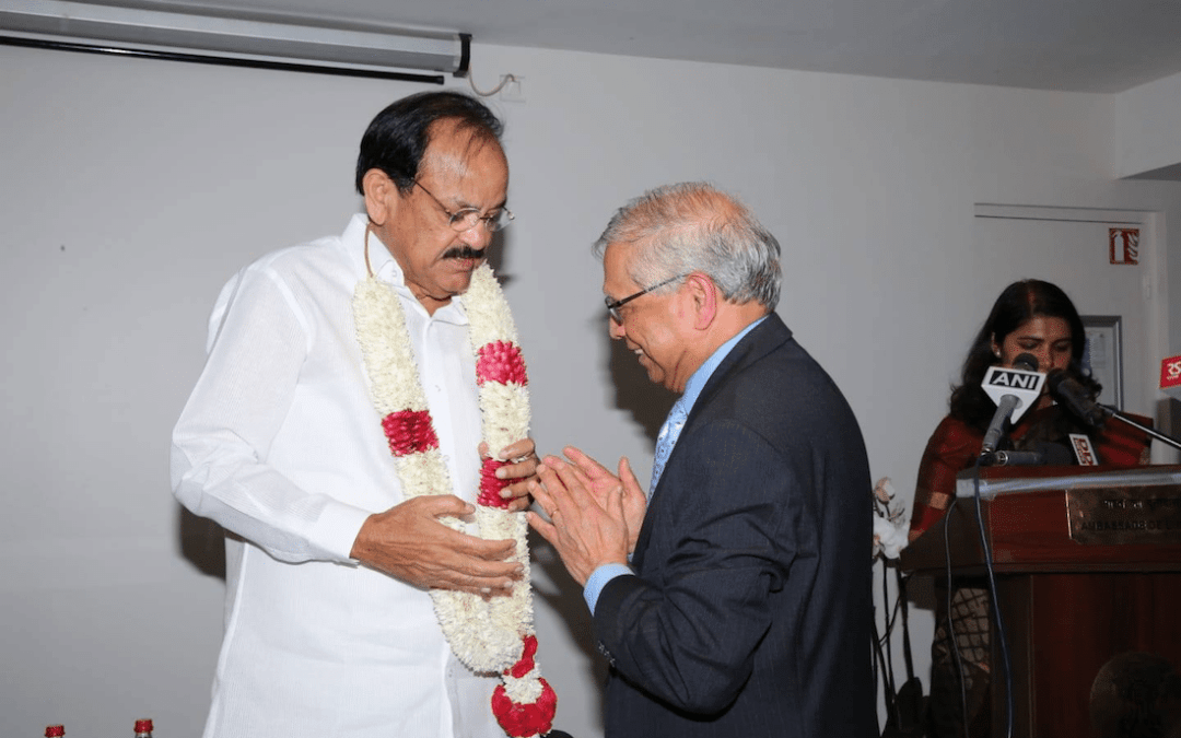 Reception in Honour of Hon. Vice President of India Shri M Venkaiah Naidu at UNESCO