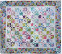 Disappearing Hour glass quilt
