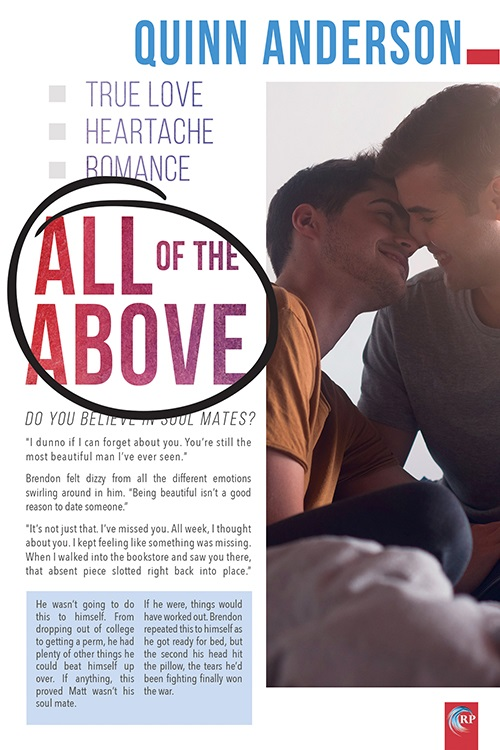 All Of The Above by Quinn Anderson Blog Tour, Excerpt & Giveaway!