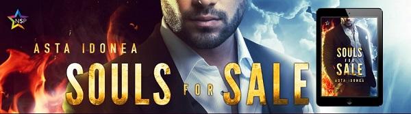 Souls For Sale by Asta Idonea Release Blast, Excerpt & Giveaway!