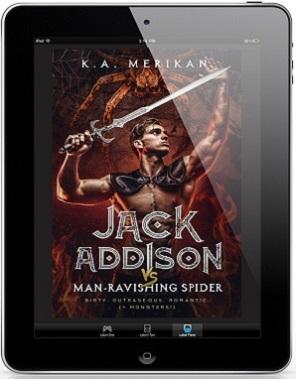 Jack Addison vs. Man-Ravishing Spider by K.A. Merikan