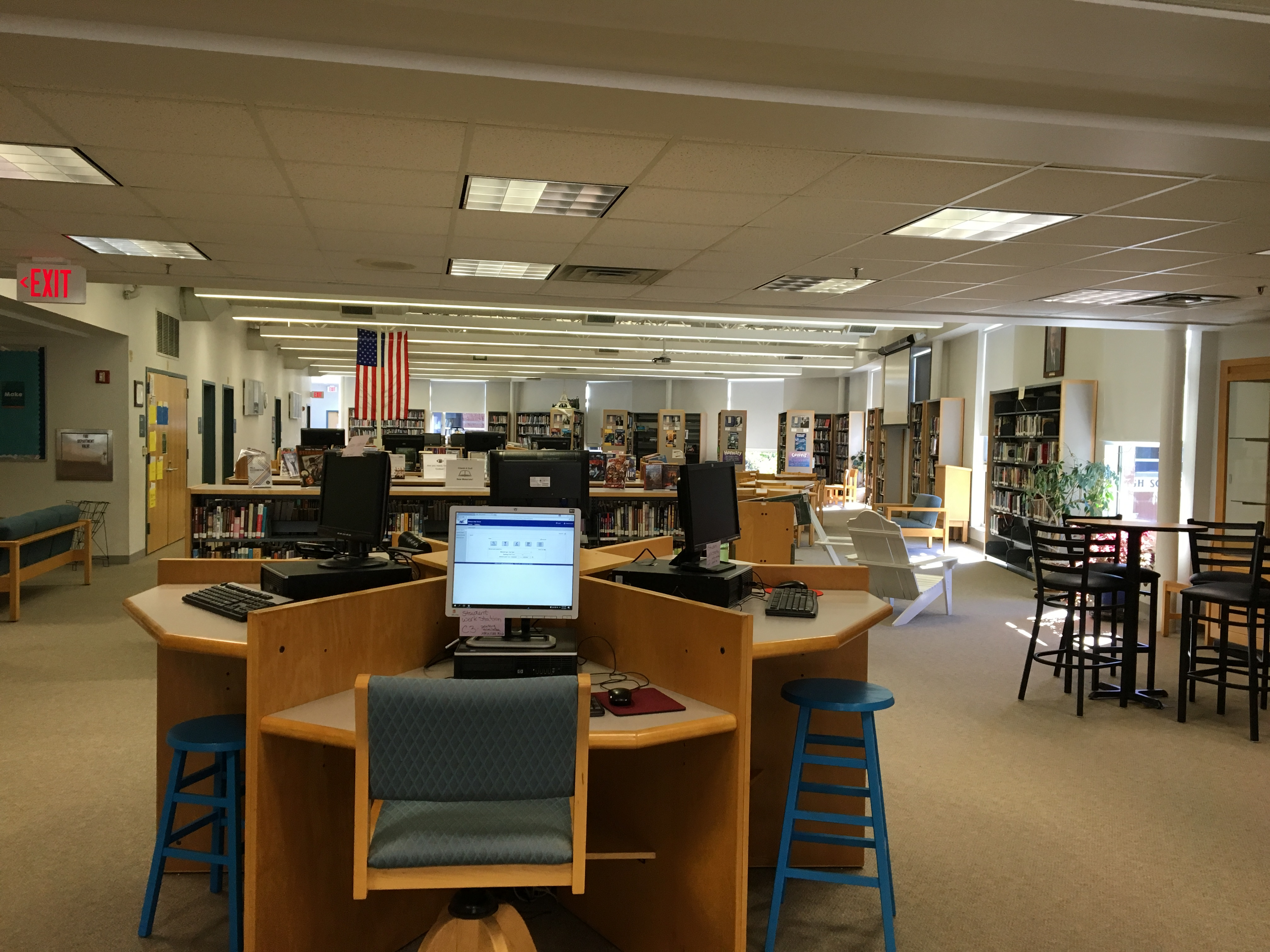 Mashpee Middle High School Learning Commons