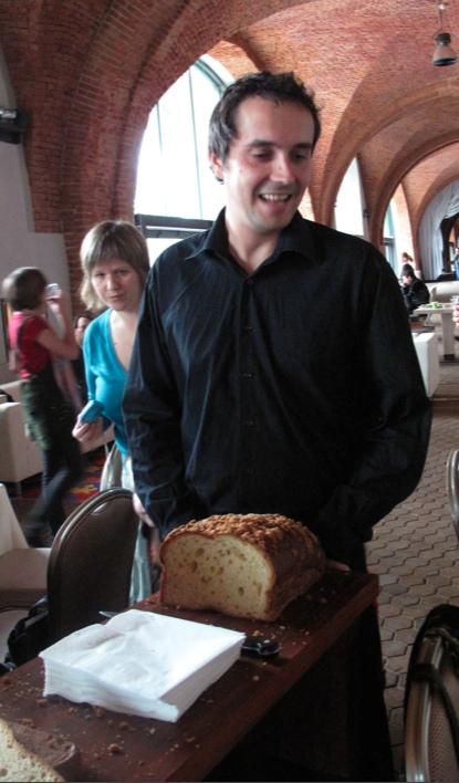Ciasto drożdżowe od Consonni (pycha!)