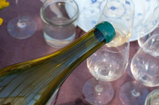 Do obiadu Mette podała cydr oraz naturalne wina
