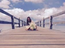 yoga on vacation