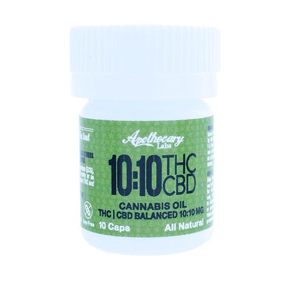 10:10 THC/CBD Caps