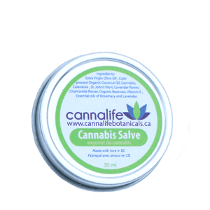 Cannabis Salve - 30ml tin - 75mg THC