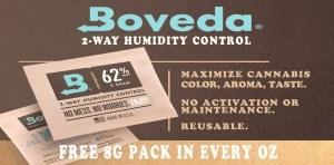 MMJDirect.ca uses Boveda Humidy Packs