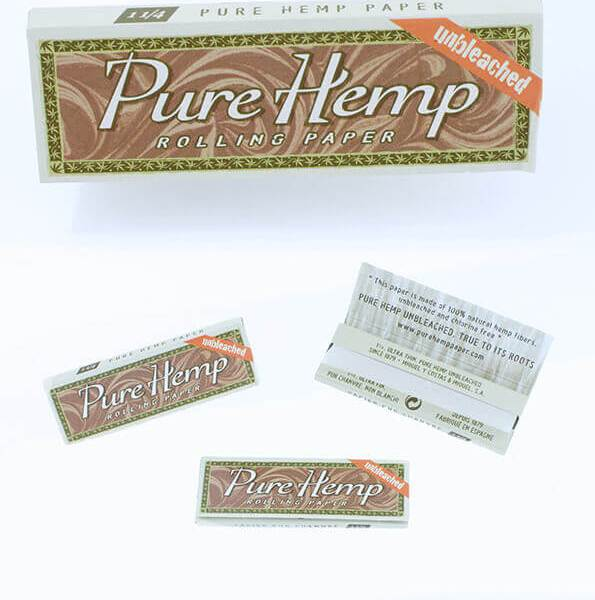 """Pure Hemp Rolling Papers - 1 1/4"""""""