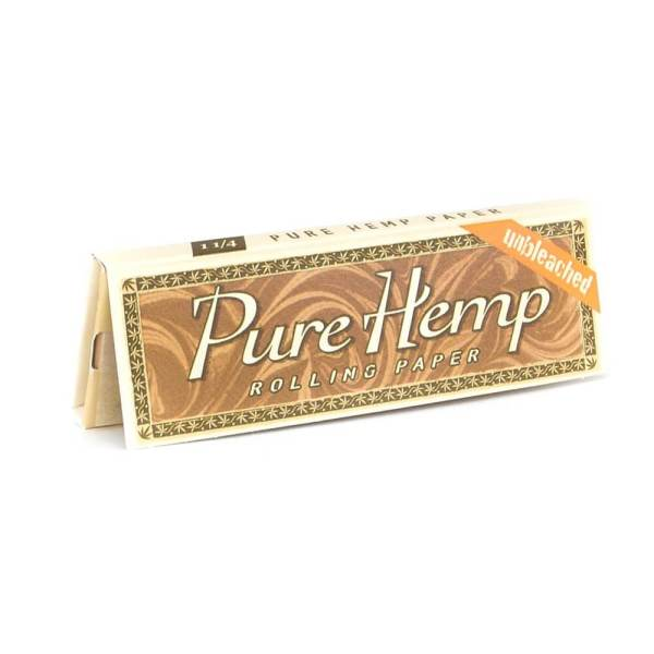 """Pure Hemp unbleached rolling papers. 1 1/4""""."""