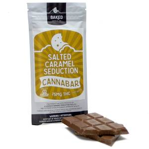 Baked Edibles bar - 75mg THC