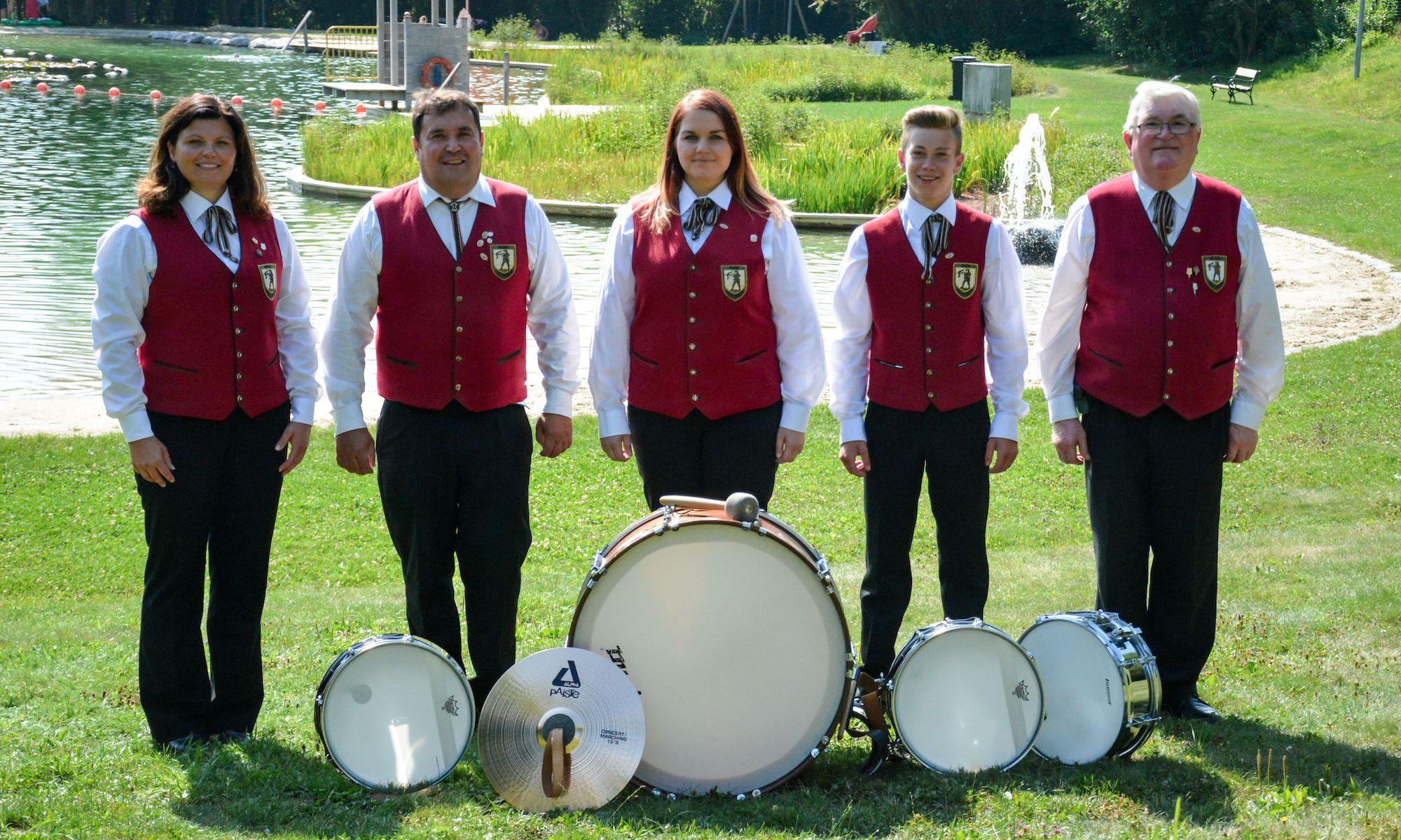 5 SchlagzeugerInnen