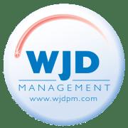 wjd management round logo