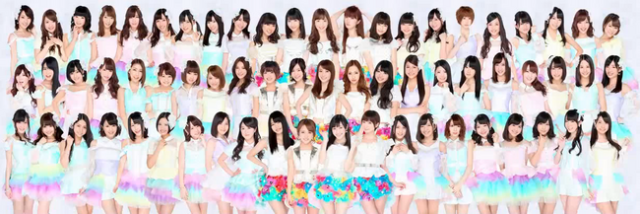 AKB48・HKT48・NMB48・SKE48