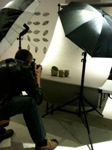 Photoshoot with Tony Webdale