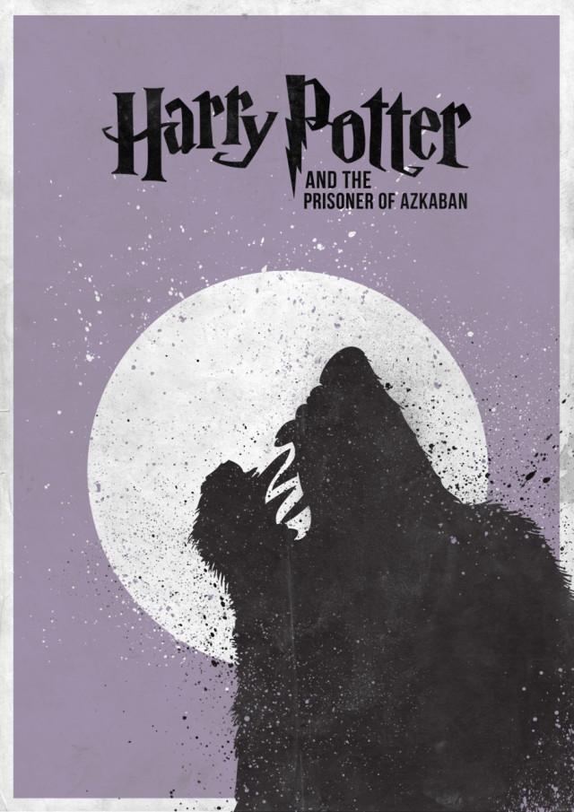 7 Minimal Harry Potter Film Posters Mmminimal