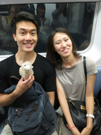 KEVIN the true new yorker. CILLA the brave transplant. LAMBY the trusty tourist.