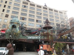 "@ City Museum!! it's like the coolest little kid-friendly junkyard of dreams. okay my descriptive powers are failing me so just google ""St. Louis museum with bus on top"" hehe"