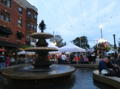 stopped by an Italian food festival on this drizzly evening