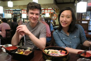 Dub date with J&C! Sushi, trader joe's snacks, whiskey tasting, and self-analysis into the wee hours of the morning.