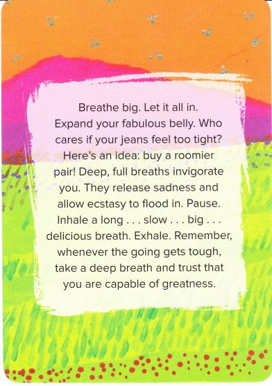 36 Breathe Deeply text