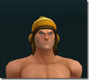 Scruffy Hat of the Hero - Cassian Male Front