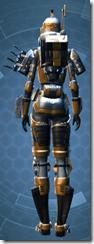 Unbreakable Veteran - Female Back