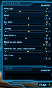 SWTOR Control
