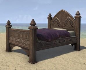 High Elf Bed, Polished Single