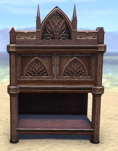 High Elf Cabinet, Noble
