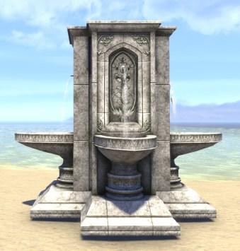 High Elf Fountain, Four-Way Timeworn