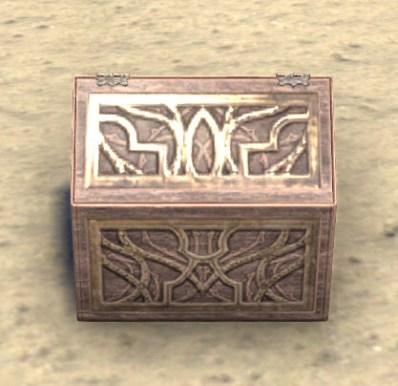 High Elf Jewelry Box, Peaked