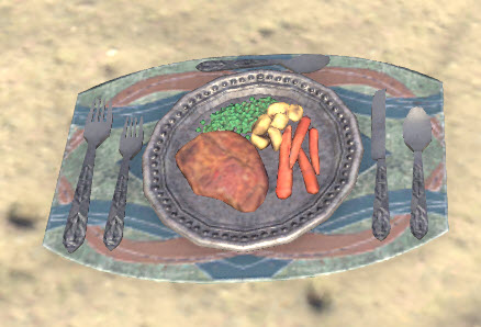 High Elf Meal, Complete Setting