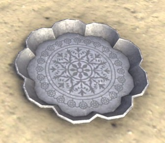 High Elf Platter, Scalloped
