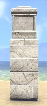 High Elf Post, Stone Wall