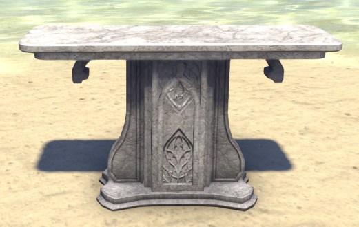 High Elf Table, Decorative Marble