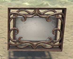 High Elf Wall Mirror, Ornate