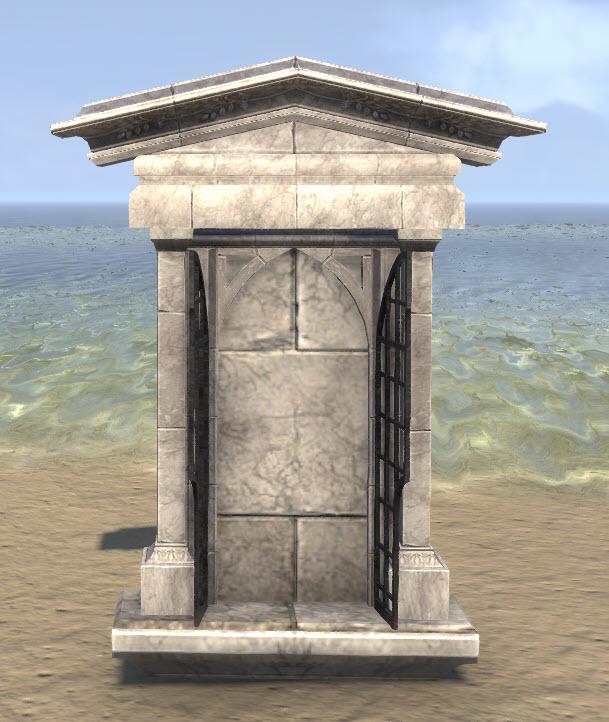 High Elf Wall Shrine, Marble