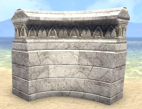 High Elf Wall, Stone Corner