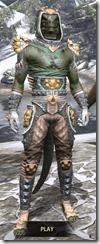 Dead-Water Homespun - Argonian Male Shirt Front
