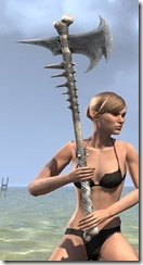 Dead-Water Iron Battle Axe 2