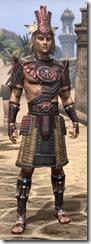 Elder Argonian Heavy - Male Front