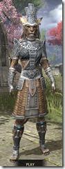 Elder Argonian Iron - Khajiit Female Front