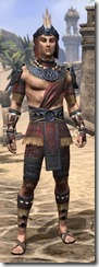 Elder Argonian - Male Shirt Front