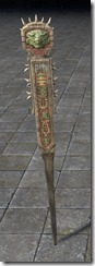 Grave Stake, Small Glyphed 1