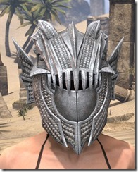 Pyandonean Iron Helm - Female Front