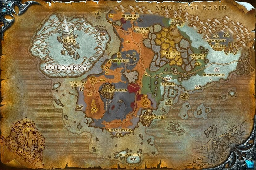 World of warcraft cataclysm map gumiabroncs Images