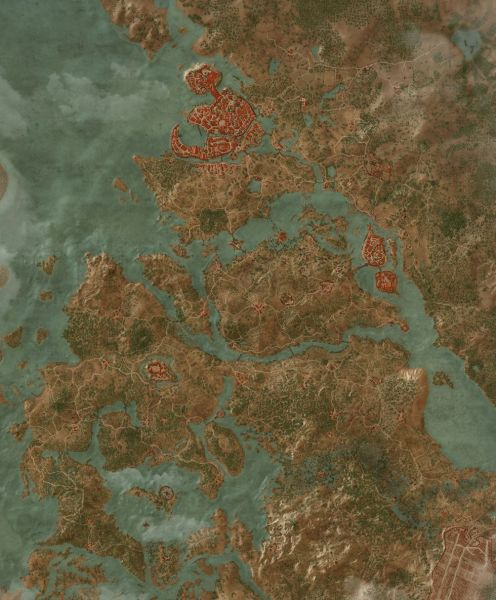 Places of Power Map   The Witcher 3  Wild Hunt Maps   Quests Quen Sign