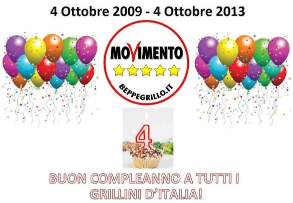 compleanno M5S