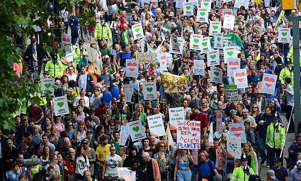 People's Climate March, London